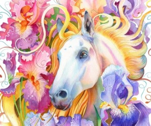 Year of Horse by Anna Bucciarelli art exhibitions in Hong Kong