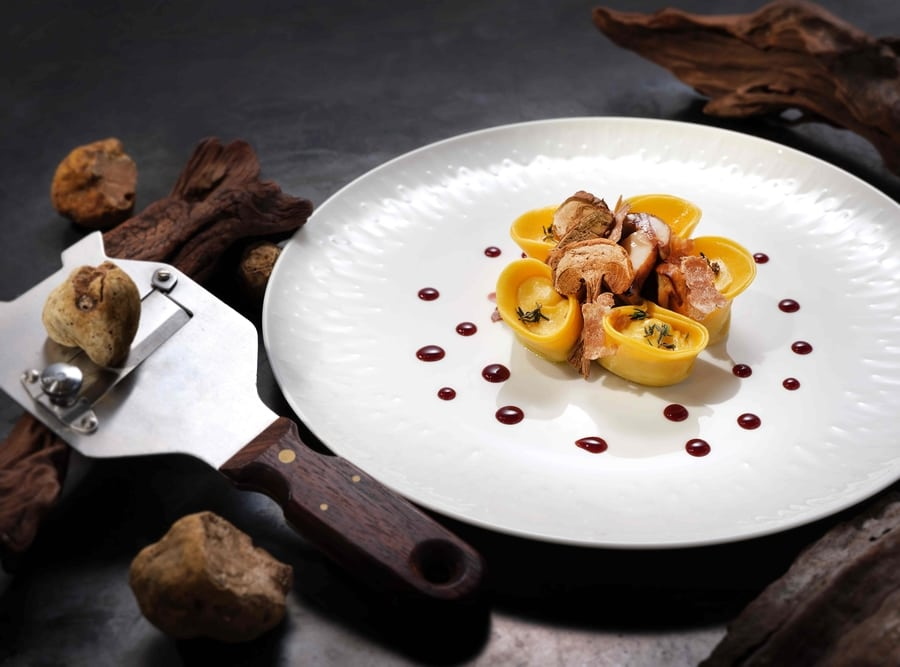 legit or quit white truffle menu Nicholini's