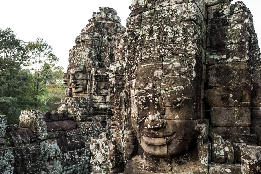 Cambodia travel what to see Bayon Temple