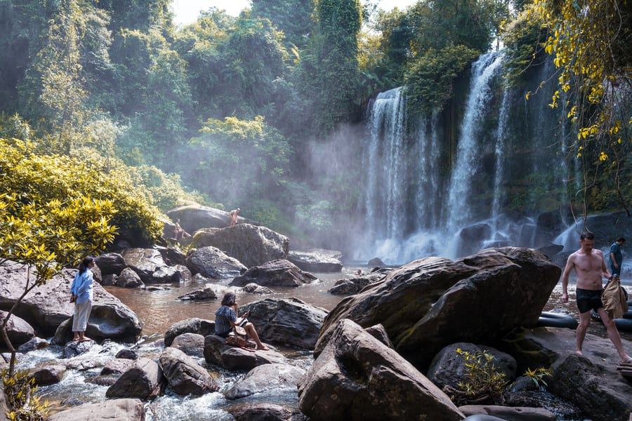 Cambodia travel what to see Kulen Mountain