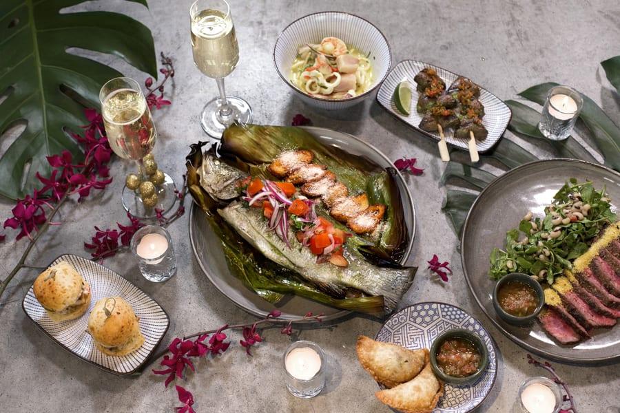christmas menus in Hong Kong brunch at Uma Nota