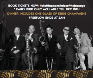 Tales of the Jazz Age Hong Kong New Year's Eve 2019