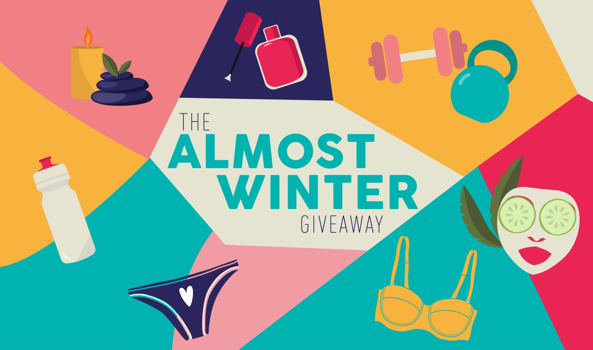 The Almost Winter Giveaway: Win one of three prizes