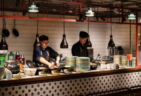 The Astor hotel brunches in Hong Kong