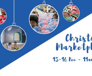 Christmas Marketplace by Campfire Campus things to do this weekend in Hong Kong