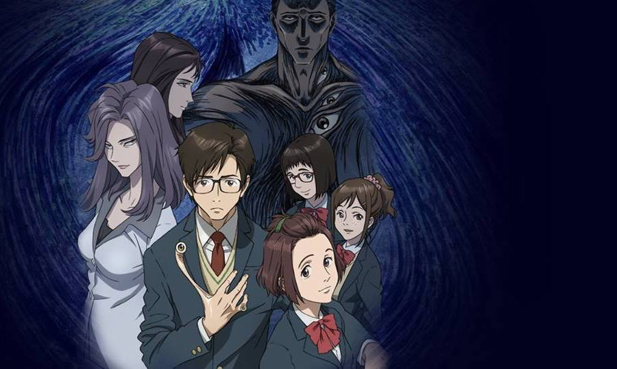 best anime Japanese cartoons 2010s Parasyte