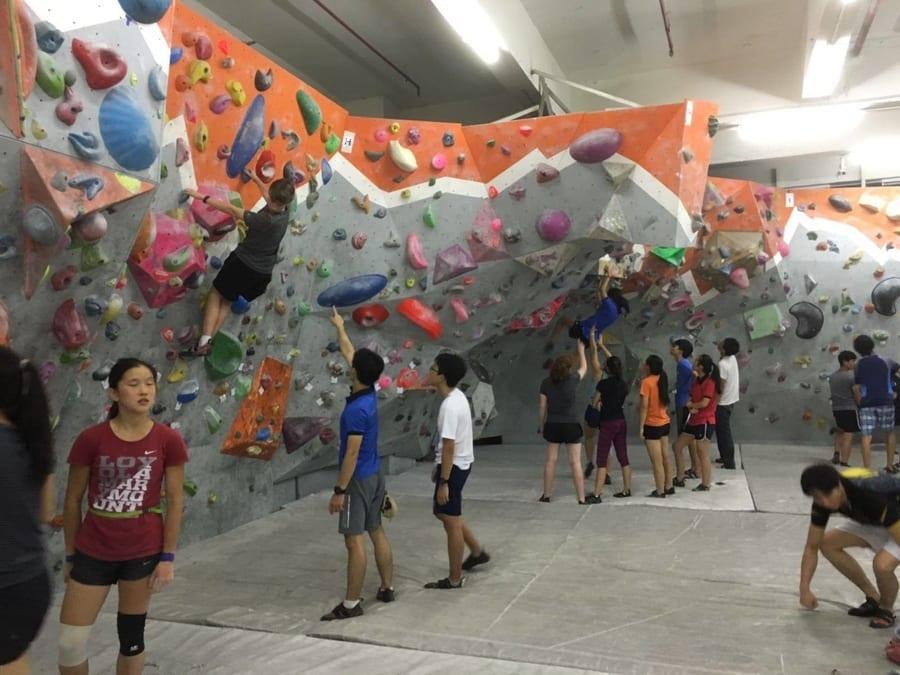 climbing gyms in Hong Kong GoNature
