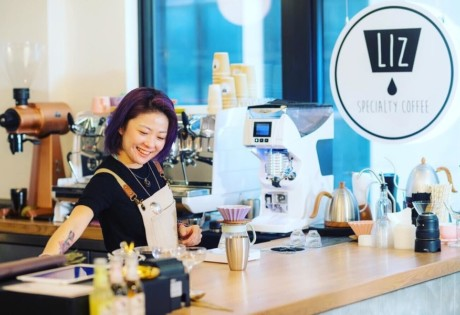 new cafes in Hong Kong December Liz Coffee