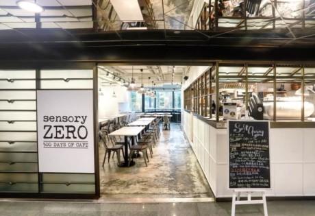 new cafes in Hong Kong Sensory Zero