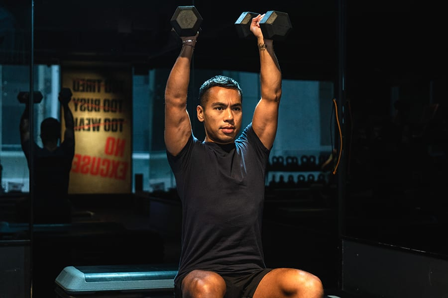 We chat with personal trainer Avey Cortes about finding his way into fitness