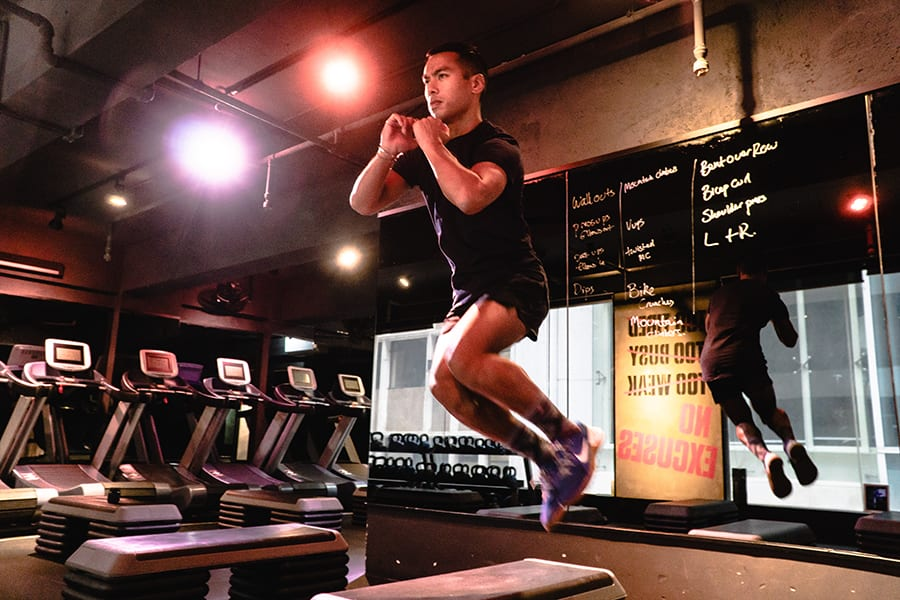 avey Cortes jumping fitness trends in 2019