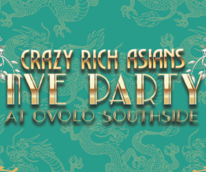 Crazy Rich Asian New Year's Eve Party Hong Kong New Year's Eve 2019