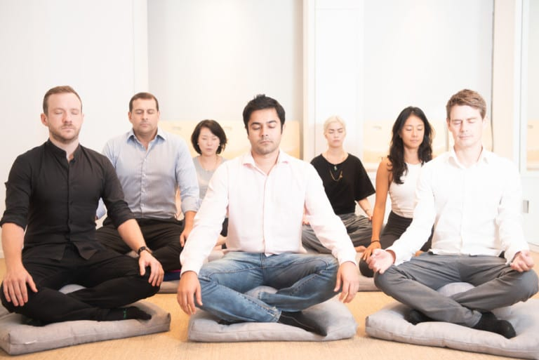 A regular guy tries ENHALE Meditation Studio (and realises he needs stretchy pants in his life)