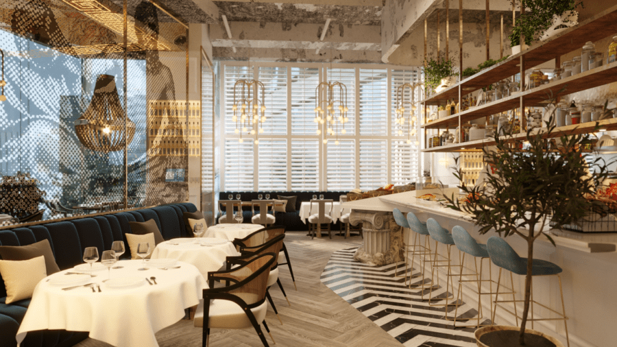 Estiatorio KEIA H Queen's new restaurants in Hong Kong