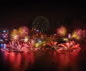 Hong Kong New Year's Eve 2019 countdown celebration