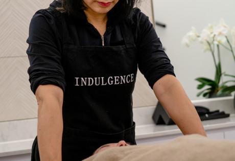 Indulgence massage beauty hair salon