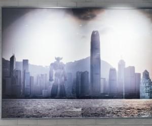 Les Freres De L'espace opening of M.A.D. Gallery art exhibitions in Hong Kong.