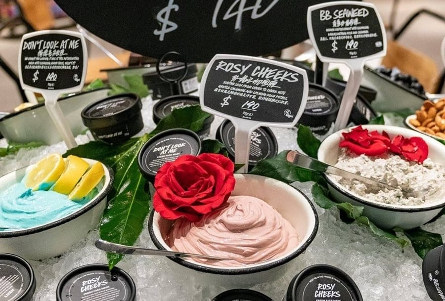 Lush vegan skincare brands in Hong Kong cruelty-free products
