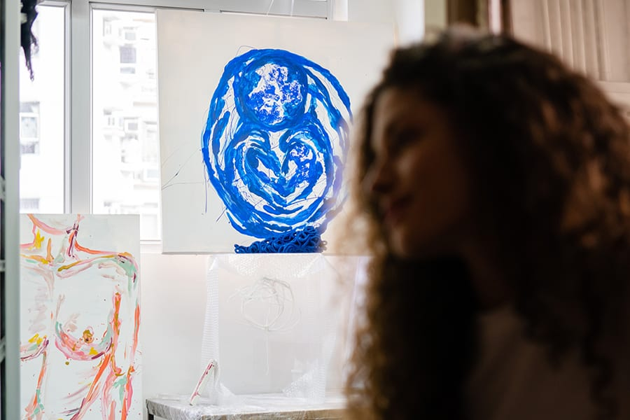 Ophelia Jacarini interview Hong Kong artist French artist subconscious