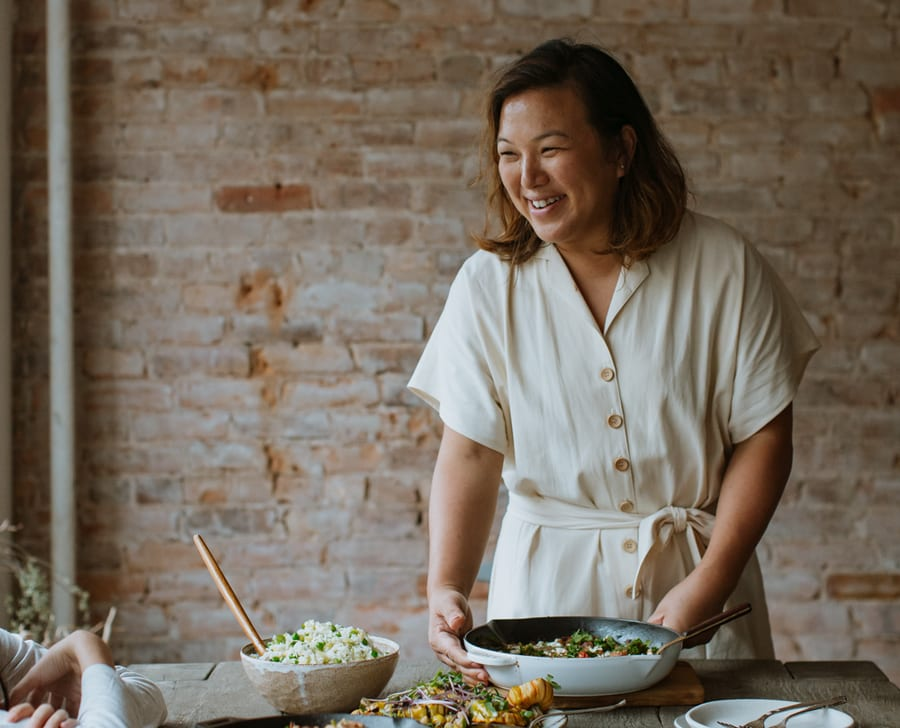 We speak to Hetty McKinnon about life as a vegetarian chef and designing the menu for VEDA