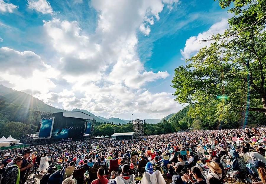 music festivals in Asia fuji rock festival