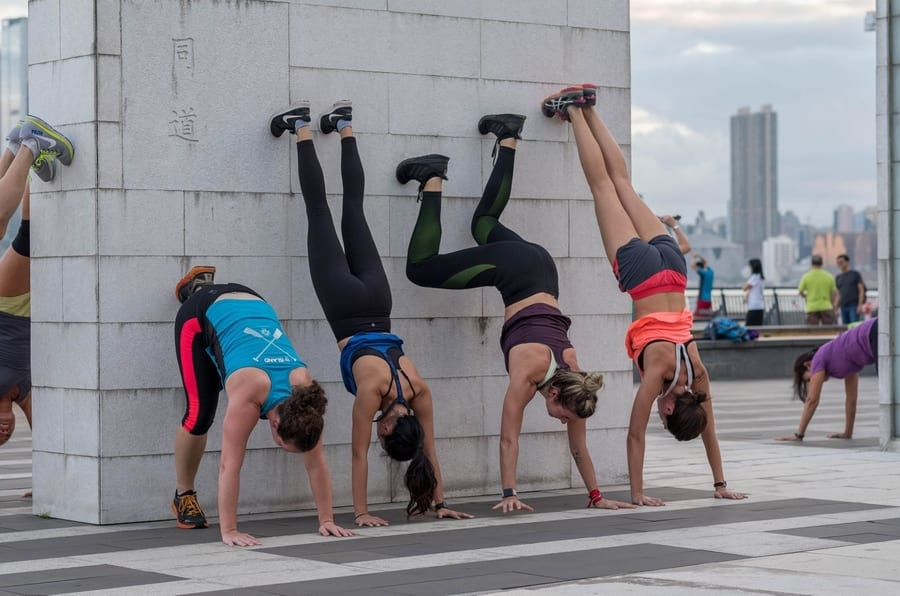 outdoor fitness classes in Hong Kong November Project