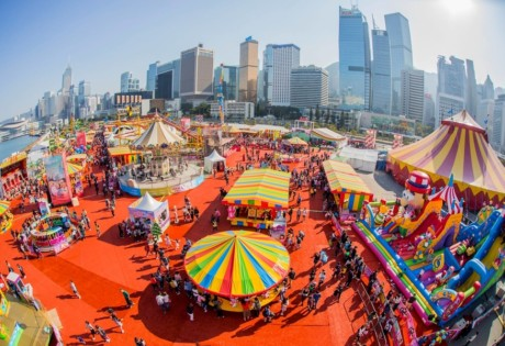 things to do this weekend in Hong Kong Aia Carnival