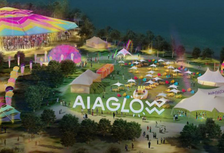 AIA Glow Festival Singapore