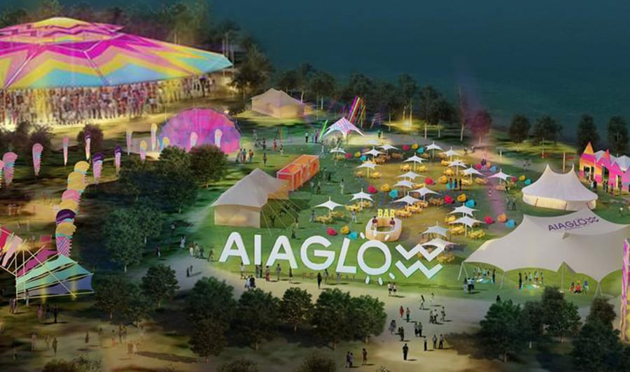 AIA GLOW FESTIVAL: THE WORLD'S MOST ENERGISING WELLNESS AND MUSIC EVENT