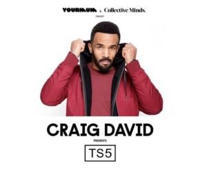Craig David presents TS5 in Hong Kong