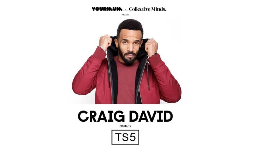 Craig David presents TS5 in Hong Kong concerts