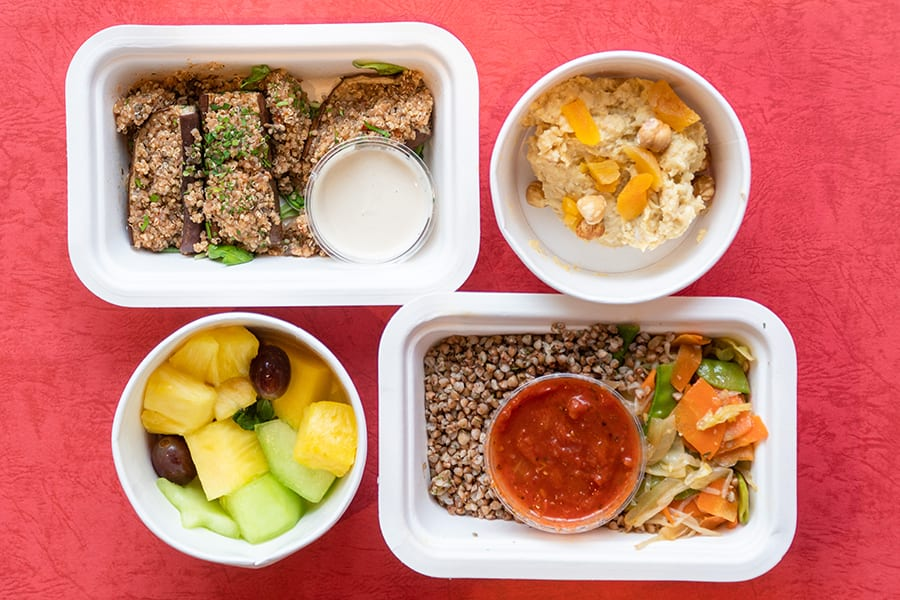 Eatology meal delivery serives in Hong Kong vegan meal plans day 2