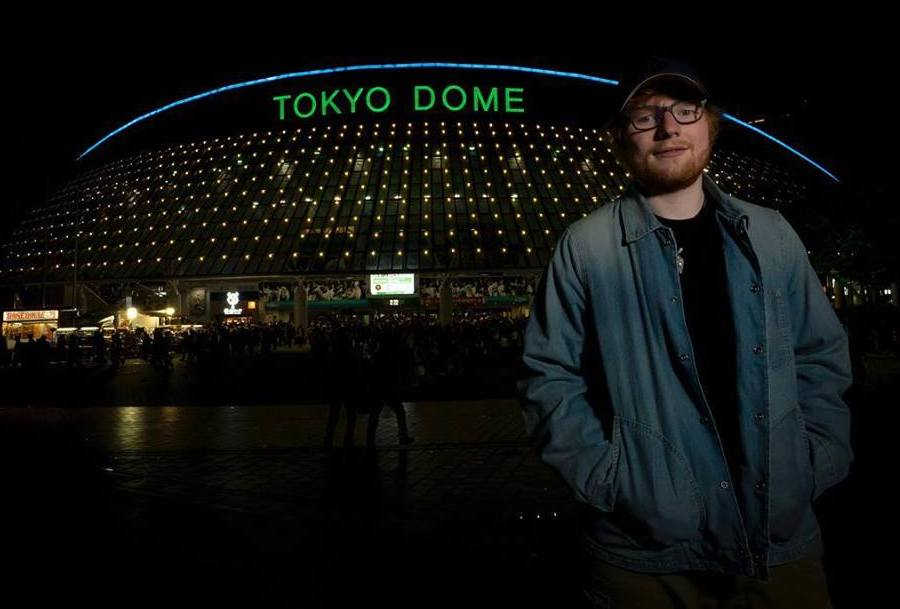 Ed Sheeran Live in Hong Kong concerts