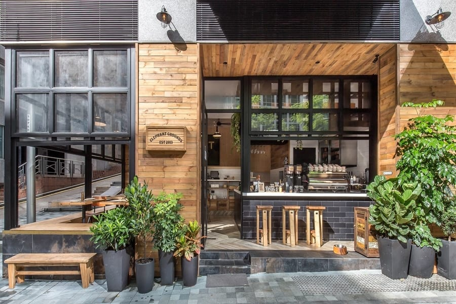 Elephant Grounds cafes in Wan Chai