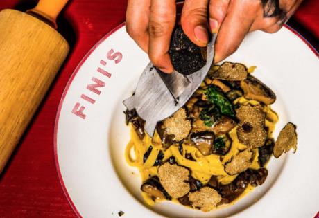 Fini's new restaurants in Hong Kong Italian American restaurant