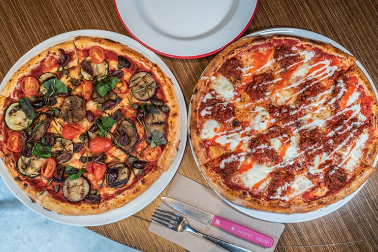 The coolest pizza bar in Sai Ying Pun! Homeslice serves up scrumptious pizzas and small plates
