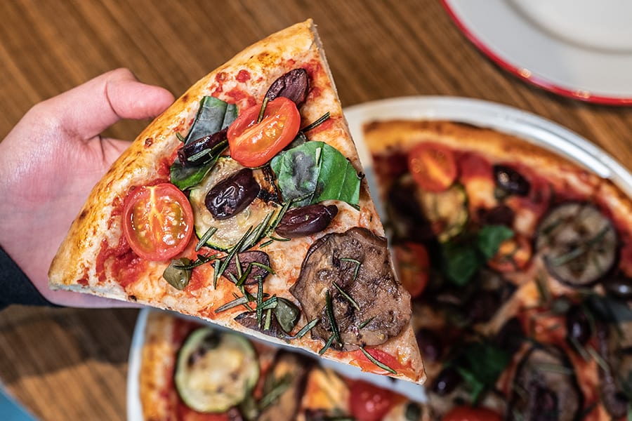 Homeslice pizza bar pizzeria Hong Kong ortolana