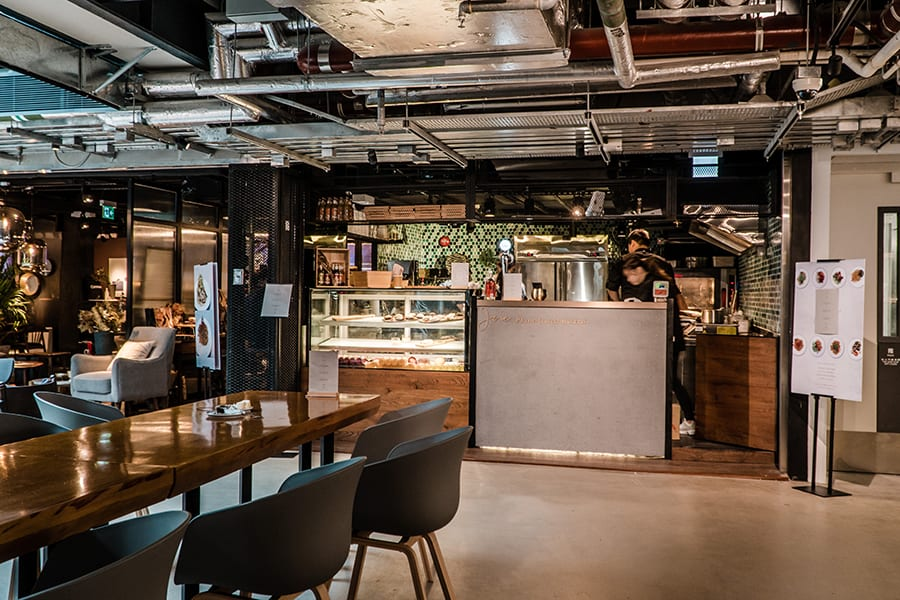 Joie Plant-based Bistro vegetarian restaurants in Hong Kong The Mills pasta store