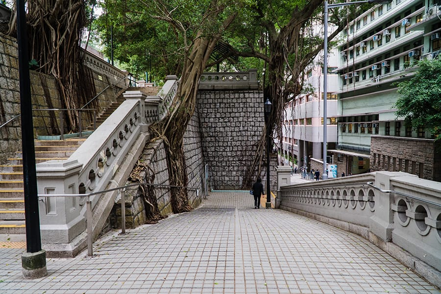 King George V Memorial Park Hong Kong film locations