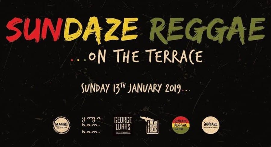 Sundaze Reggae on the Terrace things to do this weekend in hong kong
