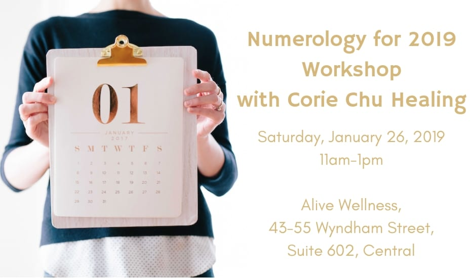 Numerology for 2019 Workshop