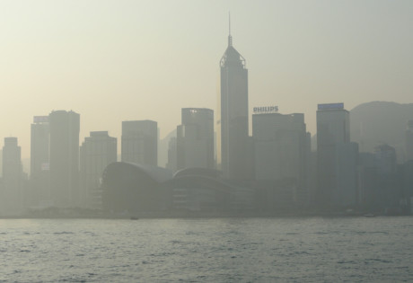 air pollution in Hong Kong smog