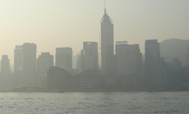 air pollution in Hong Kong smog