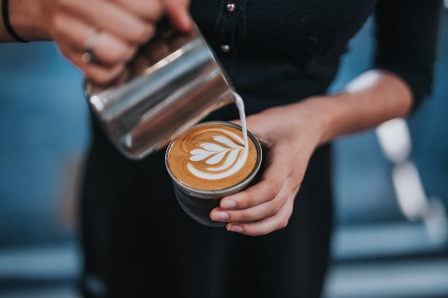 new cafes in Hong Kong 2019 January man pouring coffee