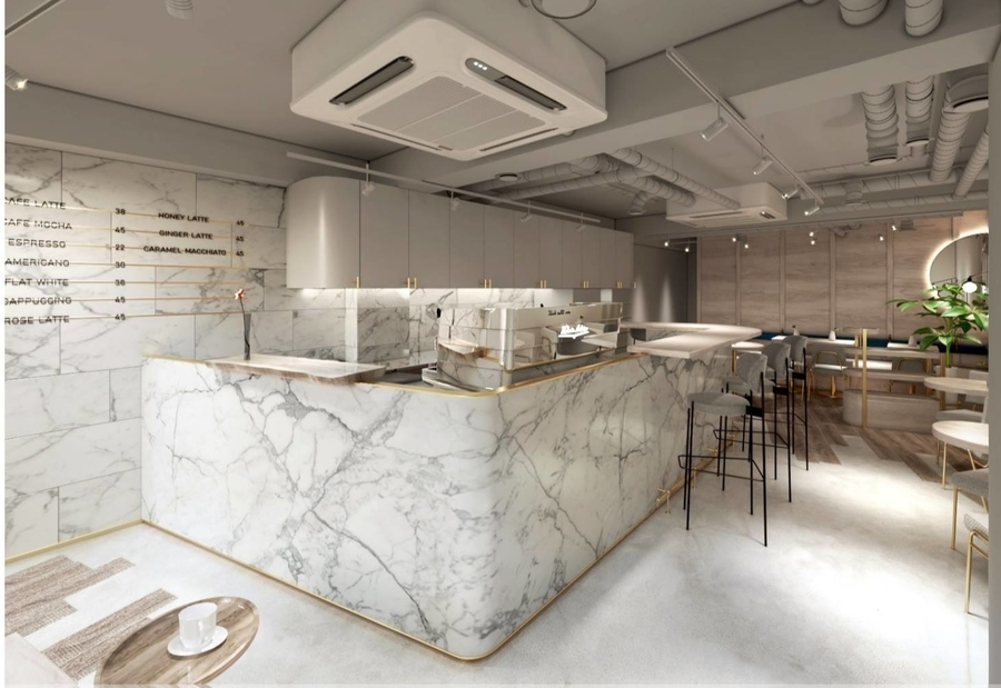 new cafes in Hong Kong on the hill coffee bar
