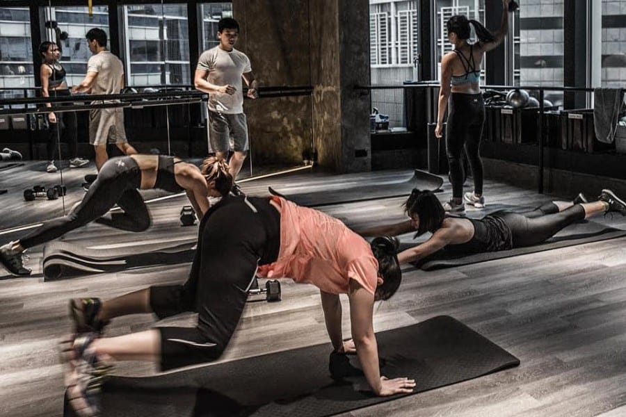 topfit independent fitness studios in Hong Kong