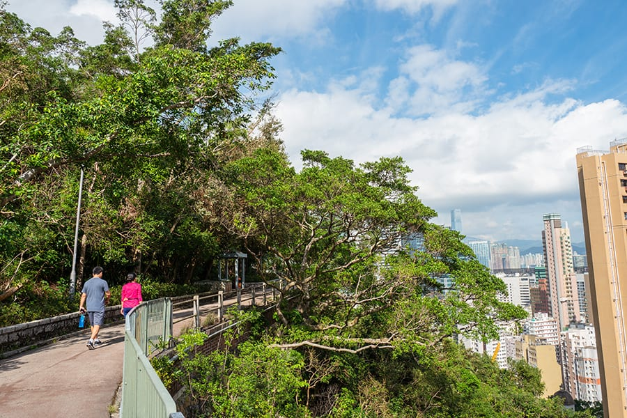 where to go running in Hong Kong Bowen Road