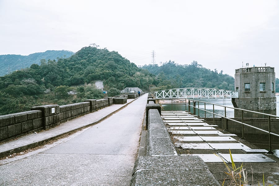 where to go running in Hong Kong Tai Tam Reservoir
