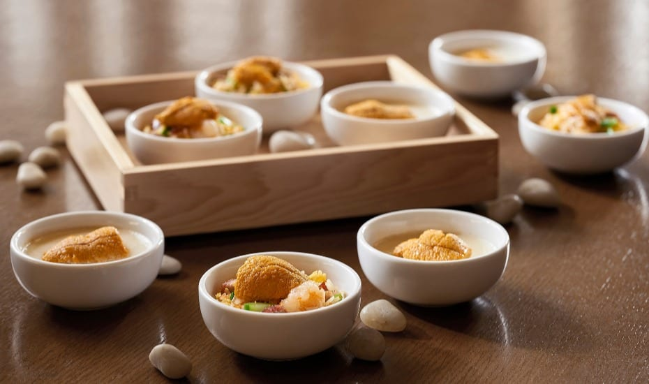 """Savour the """"Edible Gold"""" Sea Urchin Delights at Cafe"""
