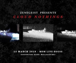 Cloud Nothing Live in Hong Kong concerts